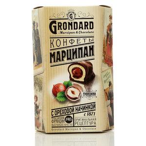 Конфеты марципан с ореховой начинкой ТМ Grondard (Грондард)