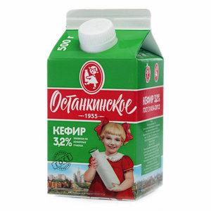 Кефир 3,2% ТМ Останкинское