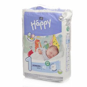Подгузники детские Newborn (2-5 кг) ТМ Bella (Белла), 42 шт