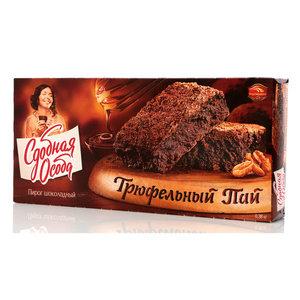 Пирог шоколадный Трюфельный пай Сдобная особа TM Черемушки