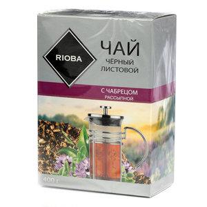 Чай черный с чабрецом ТМ Rioba (Риоба)