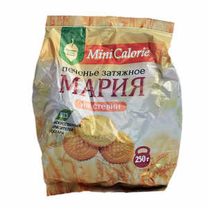 Печенье затяжное мария на стевии ТМ Mini Calorie (Мини Калории)