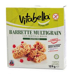 Батончик мюсли с красными ягодами 21,5 г * 6 шт ТМ Vitabella (Витабелла)