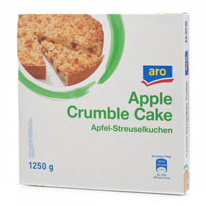 Яблочный пирог с посыпкой ТМ Aro (Аро)