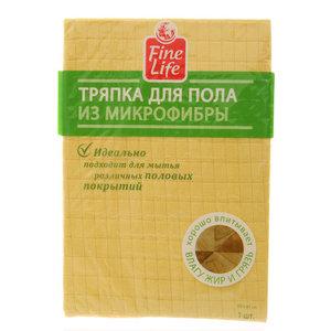 Тряпка для пола из микрофибры 2 в 1 ТМ Fine Life (Файн Лайф)