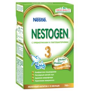Молочко детское 3 с 12 месяцев ТМ Nestogen (Нестоджен)