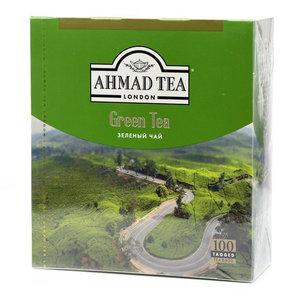 Чай зеленый ТМ Ahmad Tea (Ахмад ти), 100*2г