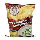 Хрустящий картофель в ломтиках со вкусом сметаны и лука ТМ Хрустящий картофель
