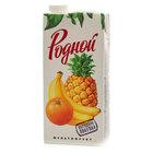 Мультифруктовый сокосодержащий напиток ТМ Родной