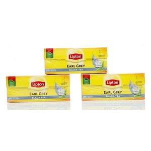 Чай черный байховый 3*25*2г ТМ Lipton (Липтон) Earl Grey Tea
