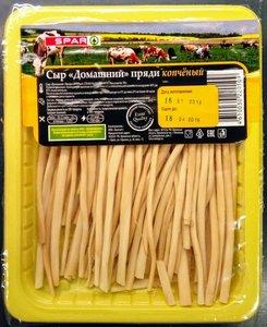 Сыр Домашний копчёный пряди ТМ Spar (Спар)