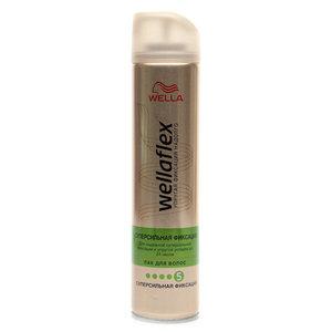 Лак для волос суперсильная фиксация ТМ WellaFlex (Веллафлекс)