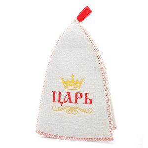 Шапка банная Царь просто царь ТМ Амонд