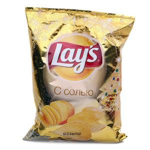 Чипсы картофельные натуральные соленые ТМ Lay's (Лэйс)