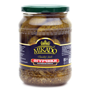 Огурцы маринованные ТМ Mikado (Микадо)