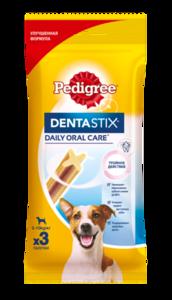 Лакомство для собак мелких пород Denta Stix (Дента Стикс) ТМ Pedigree (Педигри)