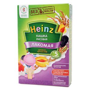 Каша Лакомная рисовая, абрикос, чернослив TM Heinz (Хайнц)