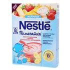 Каша йогуртовая 3 злака с бананом и клубникой Помогайка с 8-ми месяцев ТМ Nestle (Нестле)