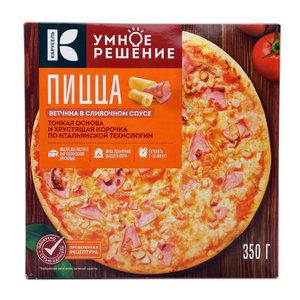 Пицца ветчина в сливочном соусе ТМ Умное решение