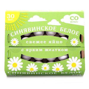 Яйцо куриное СО ТМ Синявинское, 30 штук