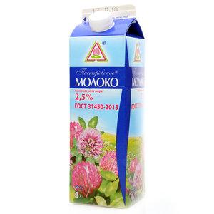 Молоко пастеризованное 2,5% ТМ Пискаревское