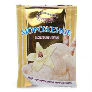 Десерт сухой для приготовления мороженого с ароматом ванили ТМ Everyday (Эвридэй)