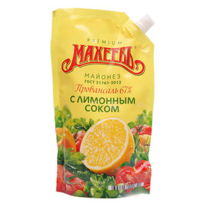 Майонез Провансаль с лимонным соком 67%  ТМ Махеевъ