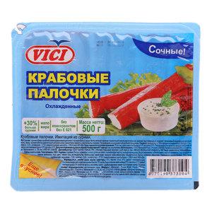 Крабовые палочки охлажденные ТМ Vici (Вичи)