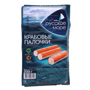 Крабовые палочки (имитация) охлажденные ТМ Русское море