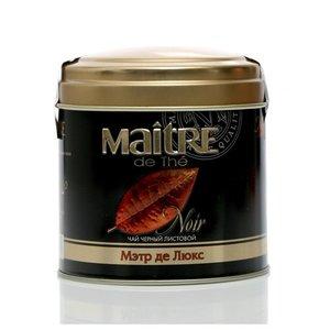 Чай черный листовой Мэтр де Люкс ТМ Maitre (Мэтр)