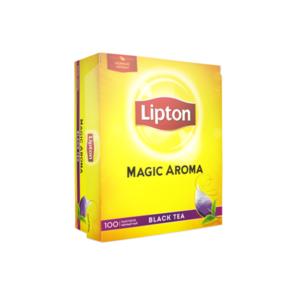 Чай черный в пакетиках Magic Aroma(Мэджик Арома) 100*2г ТМ Lipton (Липтон)