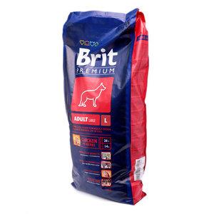 Корм для взрослых собак крупных пород Premium (Премиум) ТМ Brit (Брайт)
