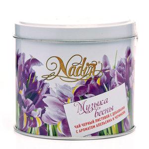 Чай черный листовой с добавками с ароматом апельсина и черимойи ТМ Nadin (Надин)