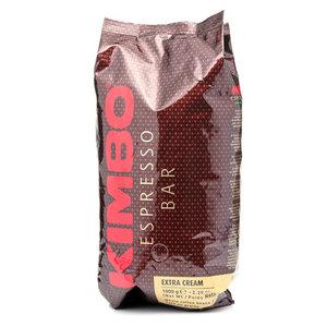Кофе натуральный жареный в зернах Extra Cream TM Kimbo (Кимбо)