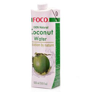 Кокосовая вода ТМ Foco (Фоко)
