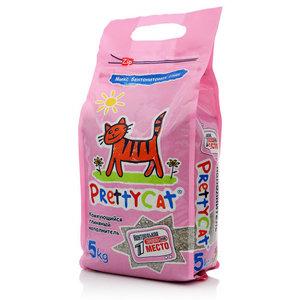 Комкующийся глиняный наполнитель микс ТМ Pretty cat (Притти кэт)