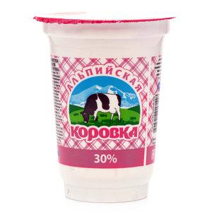 Сметанный продукт ТМ Альпийская коровка