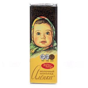 Молочный шоколад ТМ Алёнка