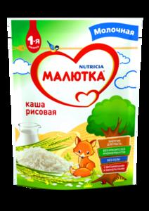 Каша рисовая молочная ТМ Малютка