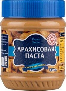 Паста арахисовая с кусочками арахиса ТМ Peanut Batter (Пинат Батте)
