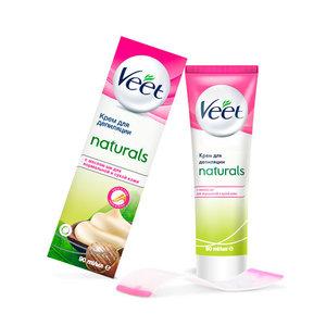 Крем для депиляции с маслом ши для нормальной и сухой кожи ТМ Veet (Вит)