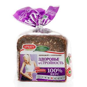 Хлеб зерновой с отрубями ТМ Арнаут