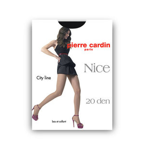 Колготки женские Nice (Найс) 20 den, цвет nero, размер 3 ТМ Pierre Cardin (Пьер Карден)