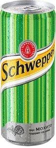 Напиток газированный Schweppes Мохито, 0,33 л