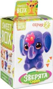 Мармелад жевательный с игрушкой Sweet box Зверята, 10 г