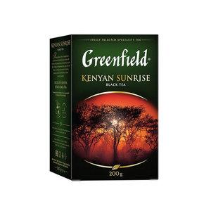 Чай черный Kenyan Sunrise (Кенья Санрайз) листовой ТМ Greenfield (Гринфилд)