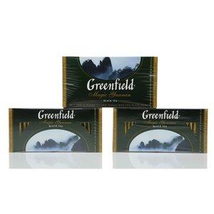 Чай черный 3*25*2г ТМ Greenfield (Гринфилд) magic Yunnan