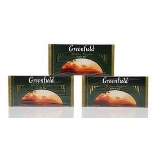 Чай черный цейлонский 3*25*2г ТМ Greenfield (Гринфилд) golden ceylon