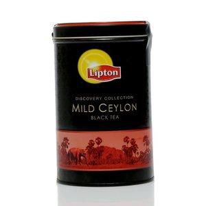 Чай черный байховый mild ceylon листовой в жестяной банке ТМ Lipton (Липтон)