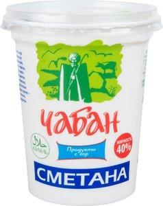 Сметана 40% ТМ Чабан